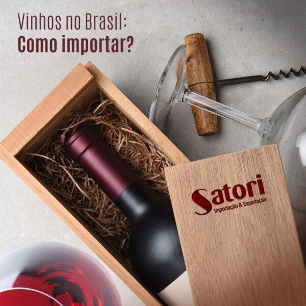 Como importar vinhos no Brasil? O Hub Logístico é uma solução!